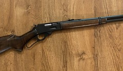 Marlin 336 in 30-30. Reblued.