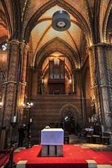 Organ Pipes Inside St. Mathias - Buda Castle, Budapest