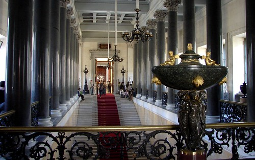 Another Grand Staircase, The Hermitage Museum, St. Petersburg, Russia