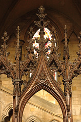 Beverley, Yorkshire, East Riding, minster, quire, stalls, detail