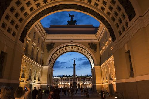 Triumphal Arch, St. Petersburg