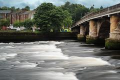 Photo of River Leven and Dumbarton Bridge in the Rain