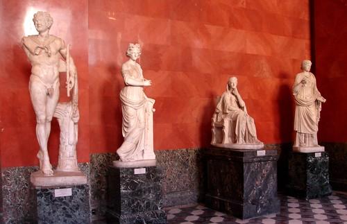 Statue Room, The Hermitage Museum, St. Petersburg, Russia