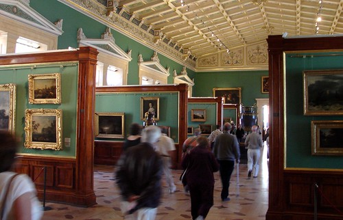Another Room of Paintings in the Hermitage Museum, St. Petersburg, Russia