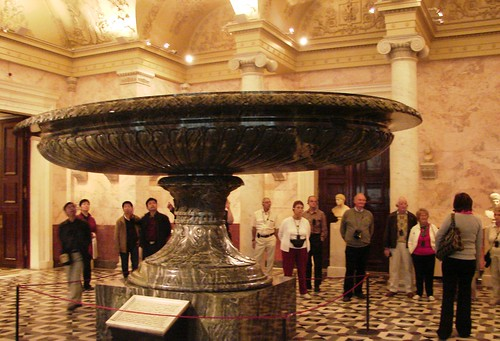 Largest Bowl in the Hermitage Museum, St. Petersburg, Russia