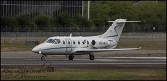 Photo of ES-NXT Beechjet 400A c/n RK-268 Fort Aero AS (Farnborough-EGLF) 07/07/2020