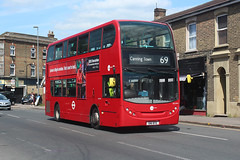 Photo of DN33653, SN11BTE, Tower Transit in Leytonstone Road