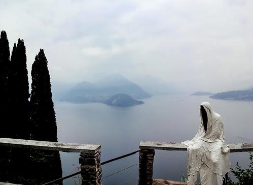 Castello di Vezio panorama of Lago Como