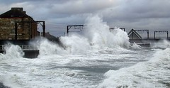 Photo of Saltcoats, winter storm