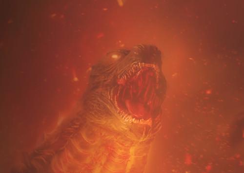 Godzilla2019 burning