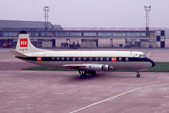 "Vickers Viscount 806 'G-APKF' Michael Faraday"" British European Airways"