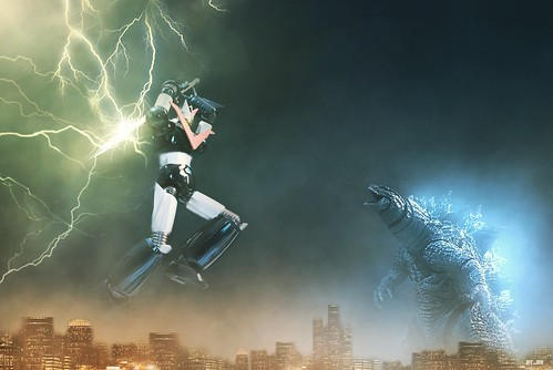 Great Mazinger vs Godzilla