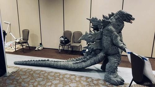 Godzilla 2019 Cosplay Spines