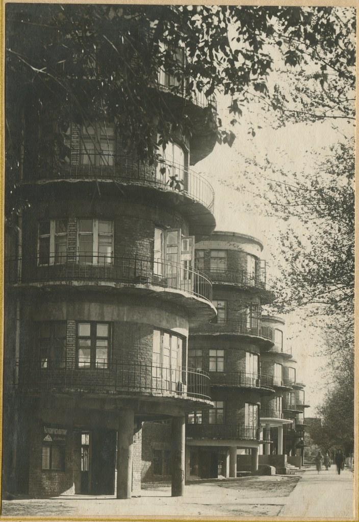 фото: ДИИТ - Общежитие N1 1953-42-1 PAPER1600 [Бусыгина Н.Д.]