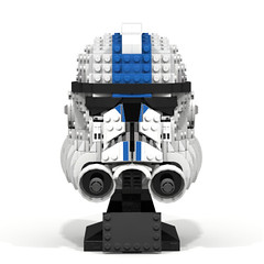 Lego Star Wars 501st Clone Trooper Phase 2 MOC