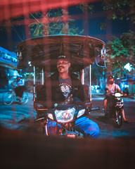 Riding in Phnom Penh