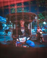 Riding in Phnom Penh
