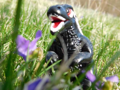 Custom Made Godzilla By A Good Friend