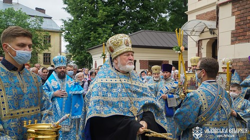 8-9.07.20 - Вшанування Тихвінської Львівської Сльозоточивої чудотворної ікони Божої Матері