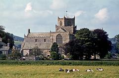 Photo of Cartmel Priory, Cumbria, August 1979