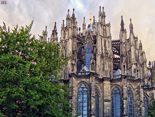 Cabecera. Catedral gótica de Colonia. JX3.