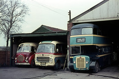 Photo of syks - premier stainforth 3 vehicles at depot 24-4-1964