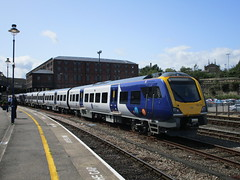 Photo of Northern 195 105. Huddersfield