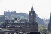 Balmoral Hotel and Edinburgh Castle, New Town, Edinburgh, Scotland