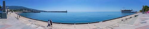 Embankment them. Lenin, Black Sea, Yalta, Republic of Crimea, June 2020 ©  Alexey Fedenkov