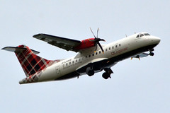 Photo of G-LMRB LOGANAIR ATR 42