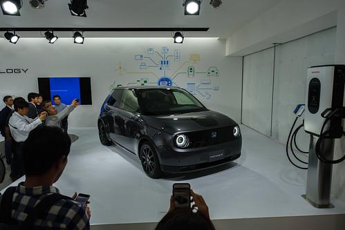 Honda-e première, Odaiba, 20191104