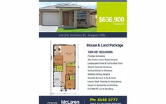Lot 3111 Archway Street, Gregory Hills NSW