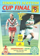 Photo of Airdieonians v Celtic 19950527