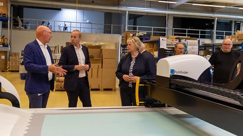 Besuch bei JUTEC in Rastede mit Karin Logemann MdL.