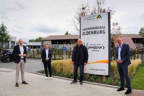 Treffen mit dem DJH beider Jugendherberge Oldenburg.