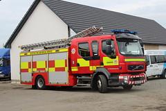 Photo of Scottish Fire & Rescue Service - KN64RVU; Cloybank Estate, Banknock; 24-08-2019