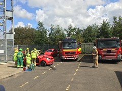 Photo of Scottish Fire & Rescue Service - KY65OLT & SN09FEM; Dunfermline Fire Station; 10-08-2019