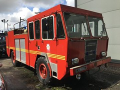 Photo of Preserved - HUL315W; Dunfermline Fire Station; 10-08-2019