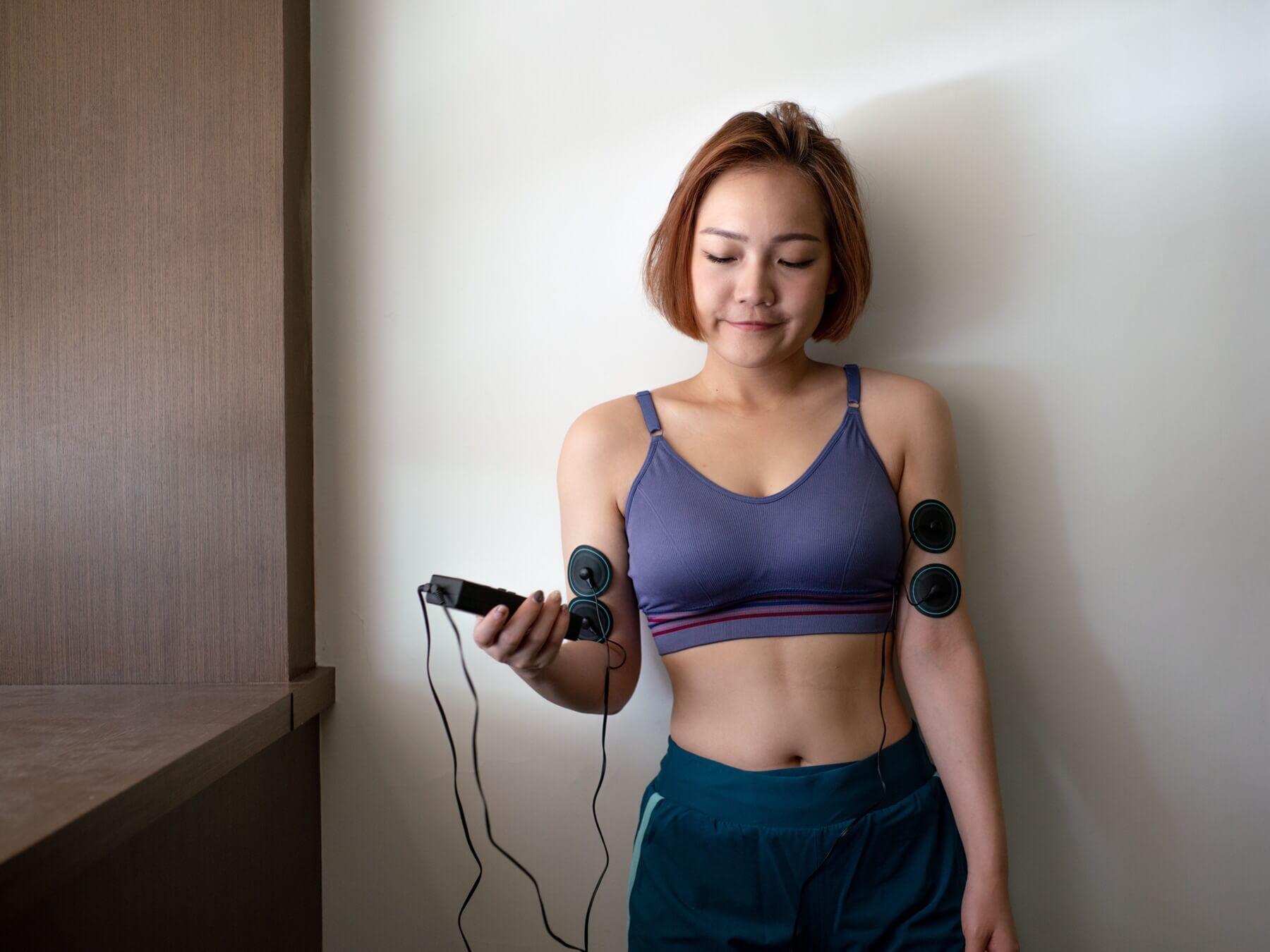 來自NASA的高科技肌力訓練|船井動力式肌肉刺激器+束腹帶|我的專屬健身機器人