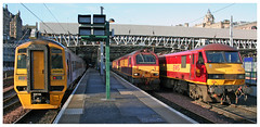Photo of 158868 & 67028 & 90039  Edinburgh 31-10-09
