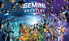 Gemini Gauntlet Cover Art