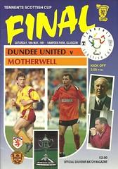Photo of Dundee United v Motherwell 19910518