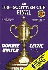Photo of Dundee United v Celtic 19850518