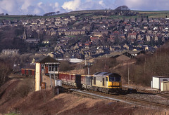 Photo of 60069 At New Mills South Junction. 03/03/2000.