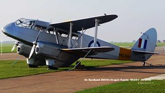 Photo of De Havilland DH89A Dragon Rapide 'HG691' (G-AIYR)
