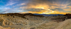 Zabriskie Point at Sunset