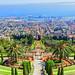 The Hanging Gardens of Haifa, Israel