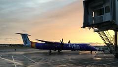 Photo of Flybe G-JEDR; BE2103 Edinburgh (EDI) - London Heathrow (LHR); Edinburgh Airport;  02-01-2020