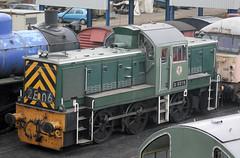 Photo of 110199 D9516 Wansford Depot (NVR) 02.03.2008