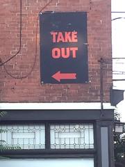 Take Out <---